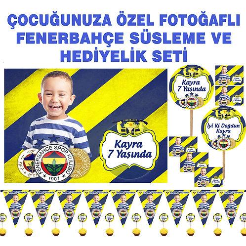 Fenerbahçe Doğum Günü Süsleme ve Hediyelik Seti