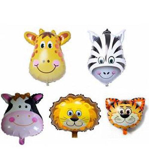 Safari Hayvan Balon Set 5'li