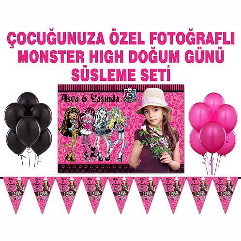 Monster High Doğum Günü Süsleme Seti