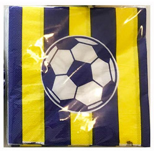 Sarı Lacivert Fenerbahçe Peçete 20'li