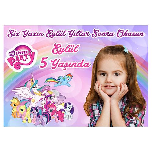 My Little Pony Kişiye Özel Anı Kartı 16 Adet