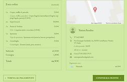 info per creare ordine a domicilio delivery asporto castelfranco veneto