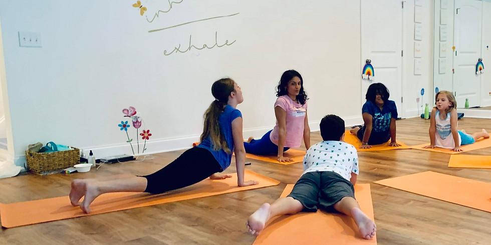 Kids Yoga - Virtual Camp (Age 6 - 12 yrs)