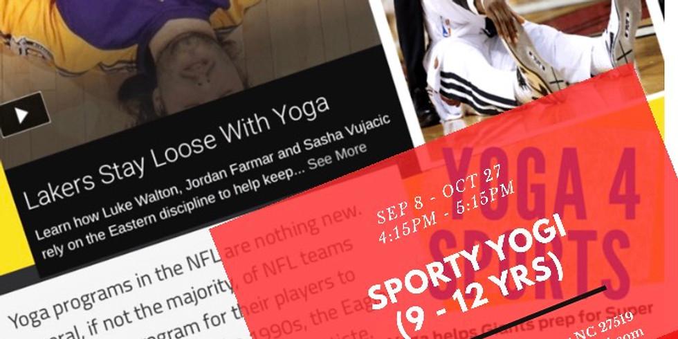Sporty Yogi (9 - 12 yrs)
