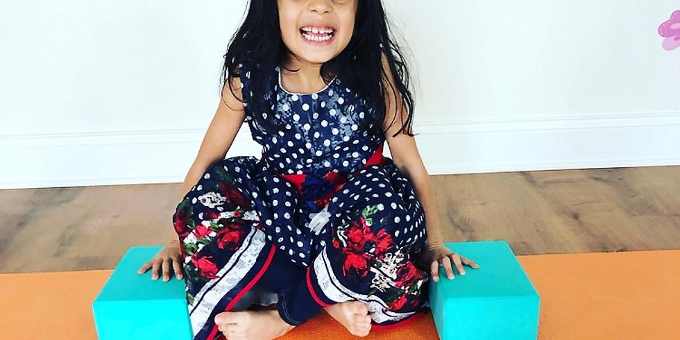 Little Kids Yoga Series (3 yrs - 7 yrs)