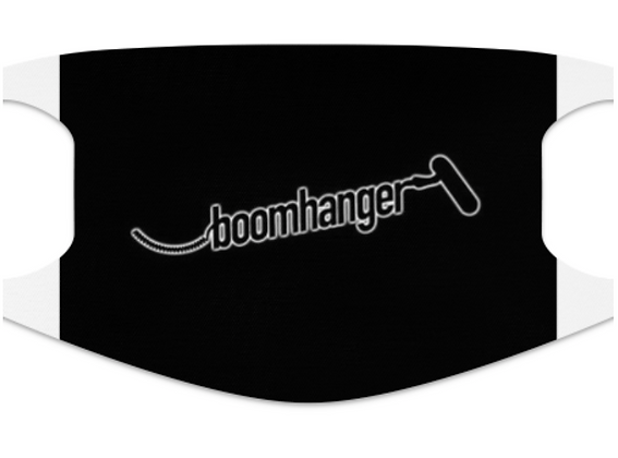 "Face mask, ""boomhanger"""