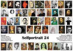 Selfportrait 24 flier