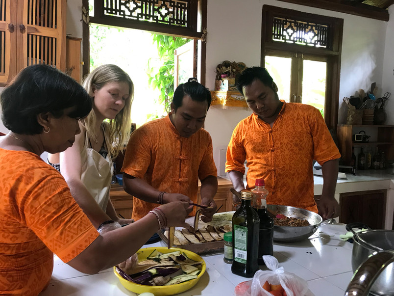 Balinese Shambala team in Action