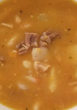 Mannish Water (Goat Soup)