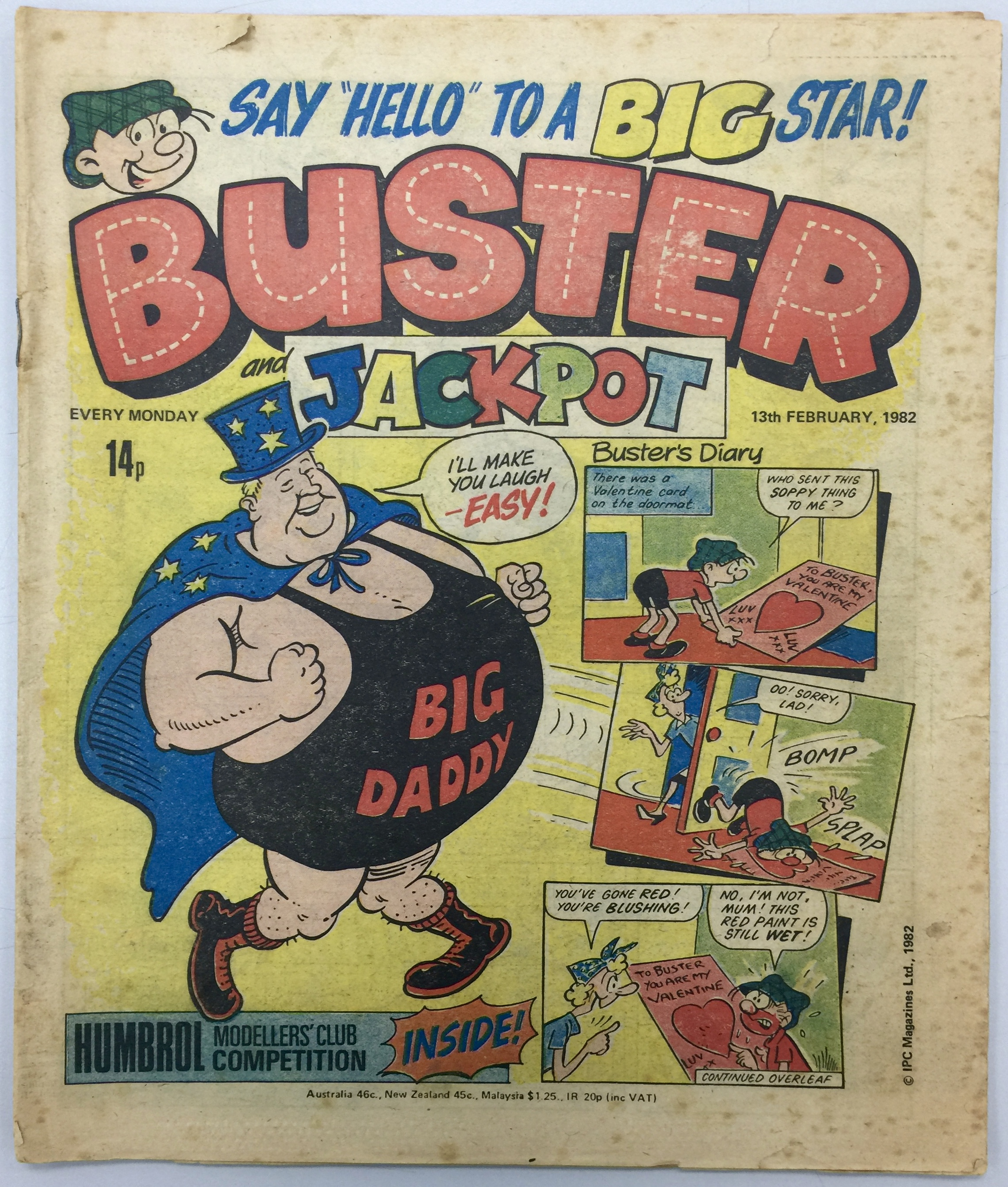 Buster 13th February 1982