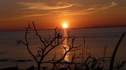coucher de soleil à Pénestin