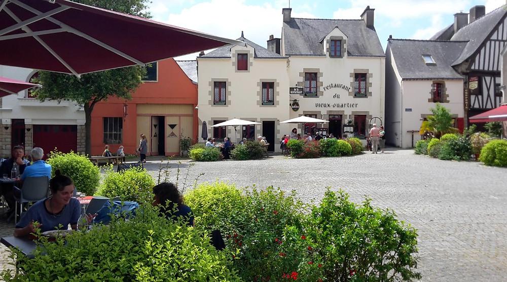 Place du Bouffay à La Roche Bernard