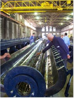 Molde p/producción de columnas UTE