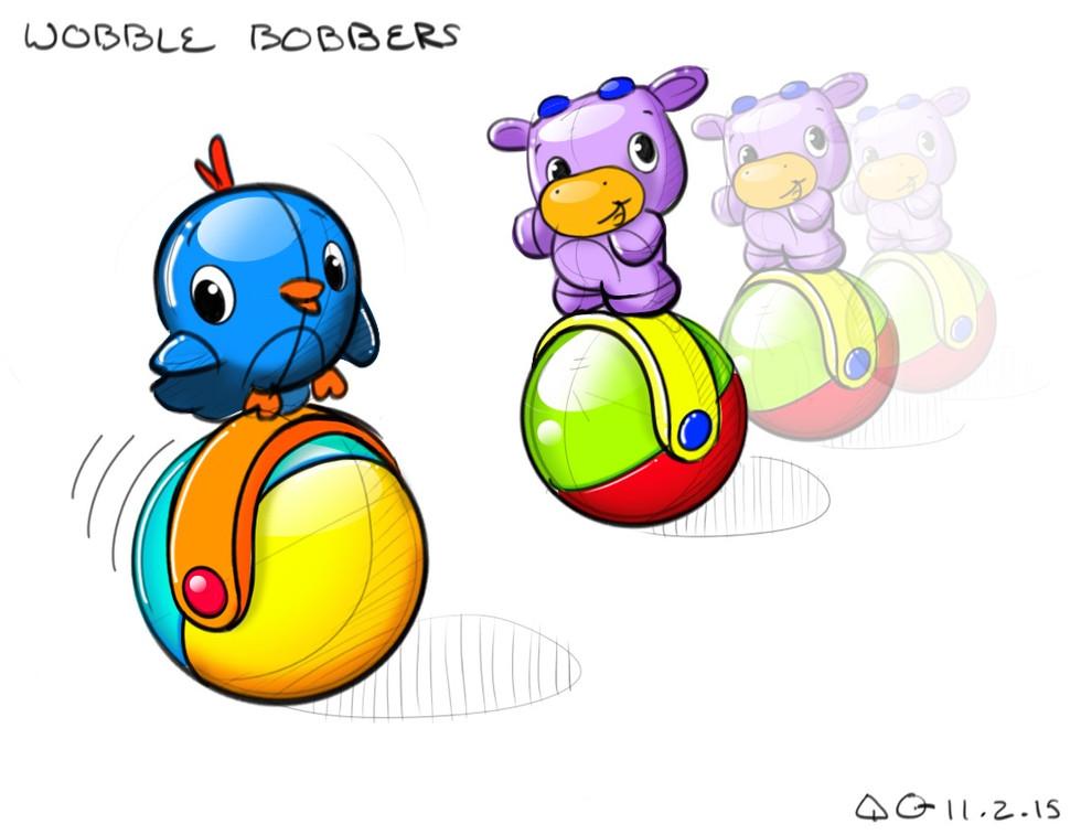 Wobble Bobbers