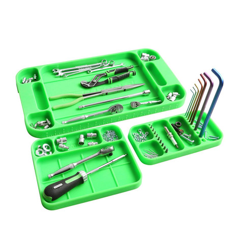 Compartments for tools and bits