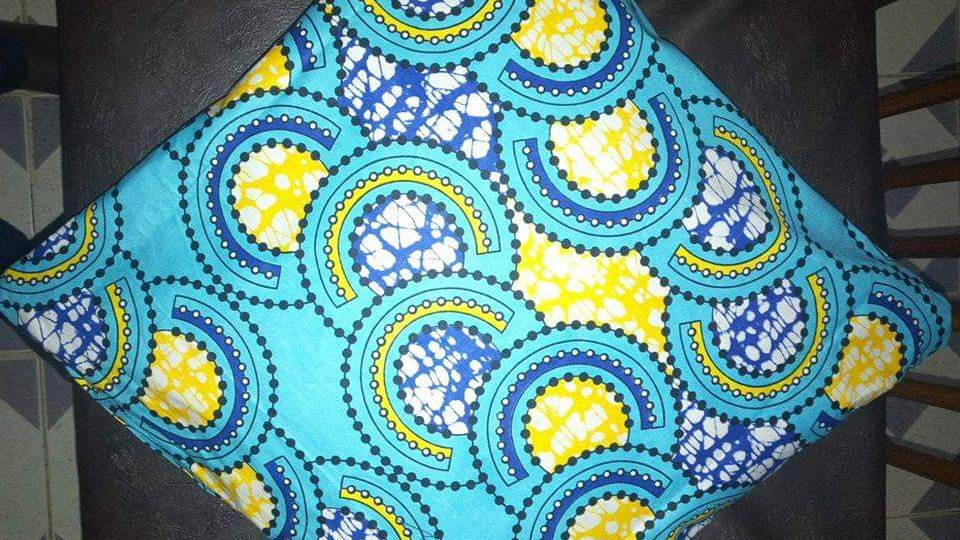 'Dreamy Blue' Cushion