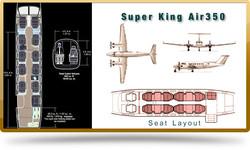fleet-king-air-350 seating