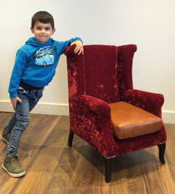 The Joshua Wing Chair