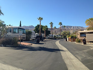 RV Park in Palm Desert, CA