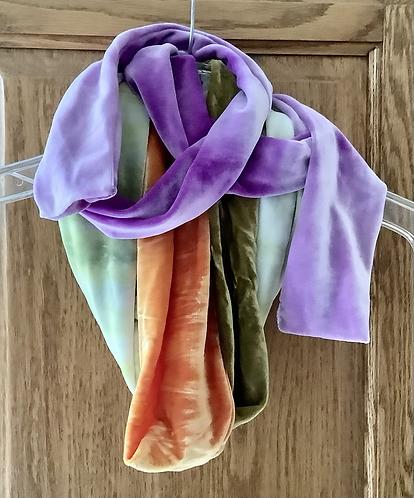 Custom Made Velvet Scarves