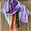 Thumbnail: Custom Made Velvet Scarves