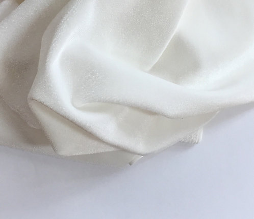 Undyed Stretch Velvet