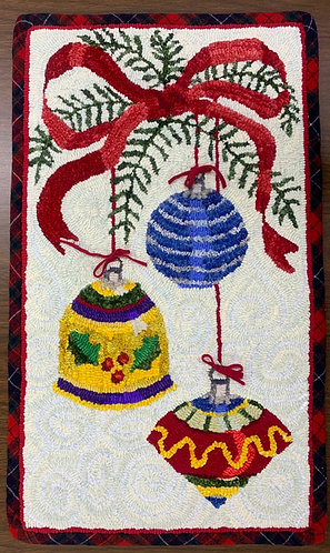 Holiday Sparkle Rug Hooking Kit