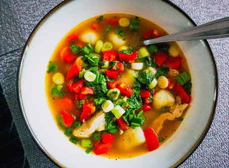 CHICKEN SOUP FOR THE SOUL...AND HEALTH