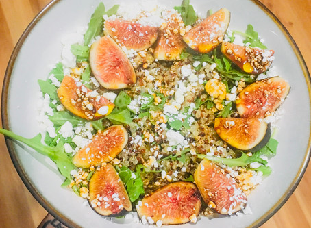 FALL RECIPES: NUTRITIOUS FIG SALAD