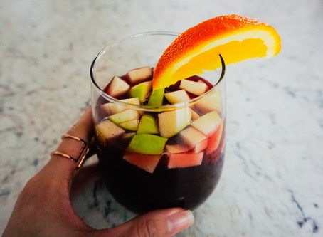 WINTER RECIPES: BOMB SANGRIA RECIPE FOR THE HOLIDAY TURN UP