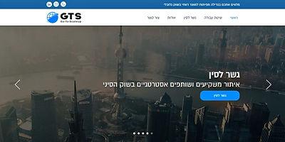 בניית אתר וויקס WIX לחברת ייעוץ