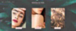 תבנית אתר וויקס לבלוג אופנה בנושא איפור