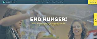 תבנית אתר וויקס לעמותה לאיסוף מזון