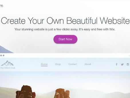 בניית אתרים בחינם עם WIX