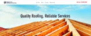 תבנית אתר וויקס לבעל מלאכה לתיקון גגות, גגן