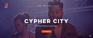 תבנית אתר וויקס למקום להופעות עם מכירת כרטיסים