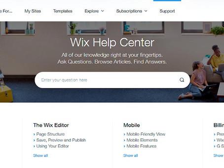 איך פונים לתמיכה של WIX ?