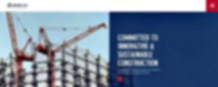 תבנית אתר WIX לחברת בנייה