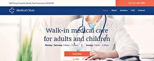 תבנית אתר וויקס למרפאה