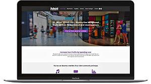 ניית אתר תדמיתי וויקס למוסיקה לעסקים
