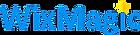 לוגו וויקס מאגיק בניית אתרים WIX