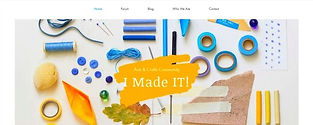 תבנית אתר וויקס לעיצוב מוצרים