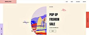 תבנית אתר וויקס למעצבת אופנה