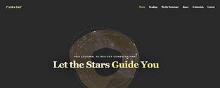 תבנית אתר וויקס לאסטרולוגיה / אסטרולוג