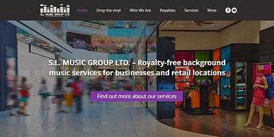 בניית אתר וויקס WIX לשירותי מוזיקה