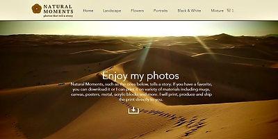 אתר חנות וויקס למכירת תמונות