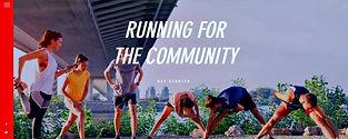 תבנית אתר וויקס לקבוצת ריצה