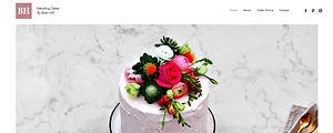 תבנית אתר וויקס לקניית עוגות אונליין