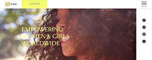 תבנית אתר וויקס לעמותה לנשים