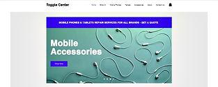 תבנית אתר חנות וירטואלית לסמארטפונים